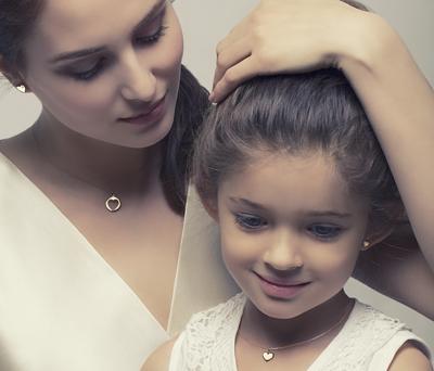 колоны для мамы и дочки
