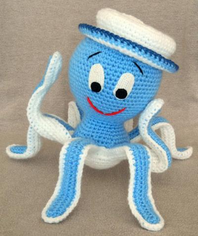 игрушка осьминог из холлофайбера