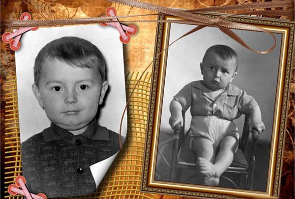 старые фотографии детства