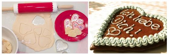 пироги в виде серца