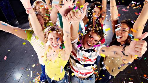 поздравление на вечеринке