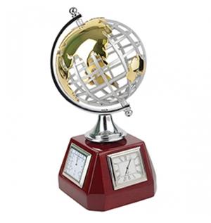 часы в виде глобуса