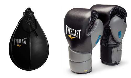 домашняя боксерская груша с перчатками