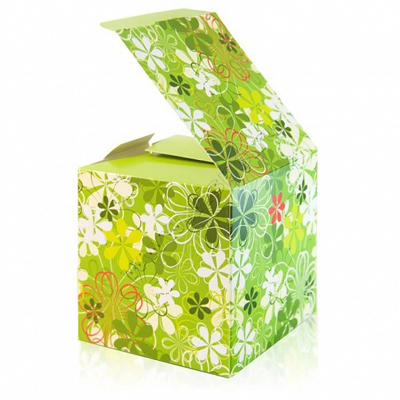 коробочка из картона для подарка
