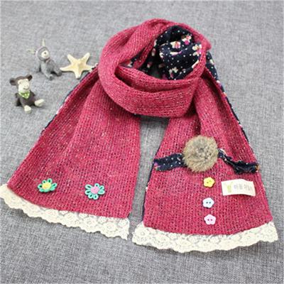 вязаный шарф на рождество