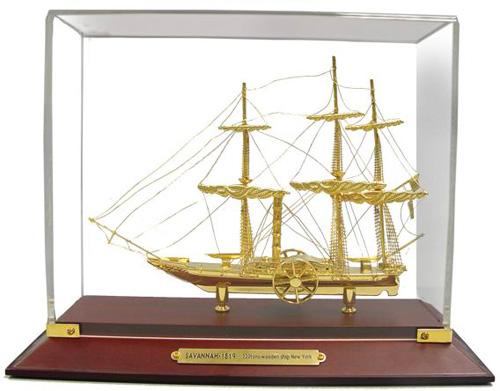 подарочный сувенир корабль
