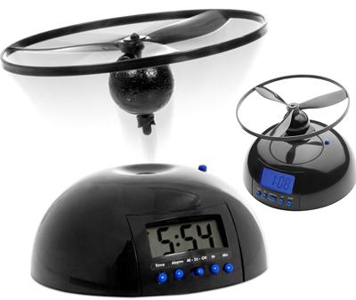 интерактивный летающий будильник