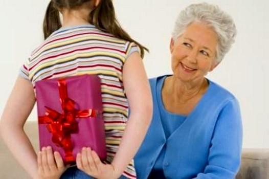 подарок для бабушки от внучки