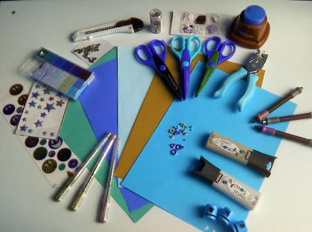 инструменты для занятия скрапбукингом