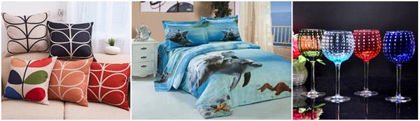 красивое постельное бельё и подушки
