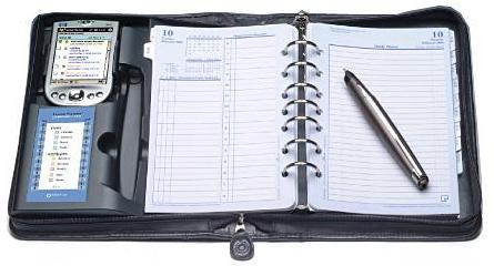 кожаный органайзер для учителя