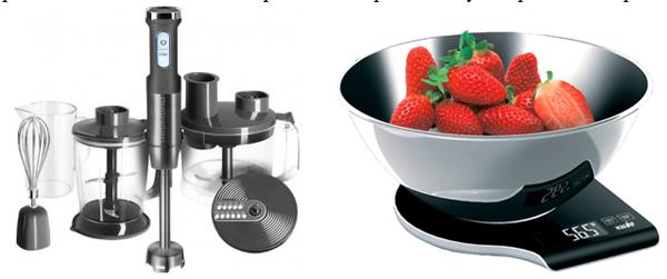 блендер и кухонные весы