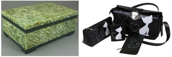 сумочка и шкатулка для жены в подарок