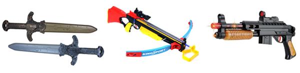 детское игрушечное оружие