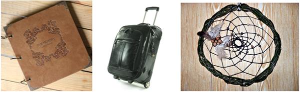 кожаный чемодан и дневник