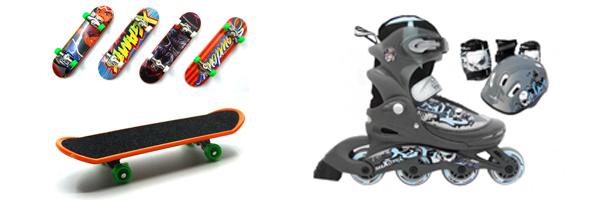 скейт и роликовые коньки