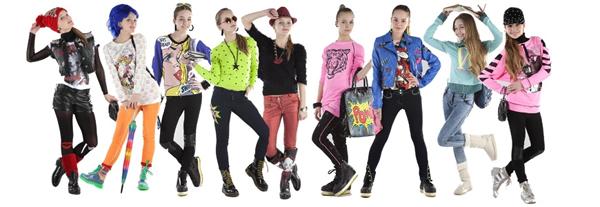 модные наряды для девочки