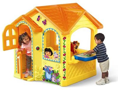 детский уличный игровой домик