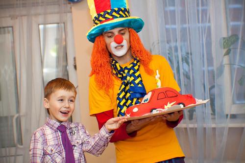 приглашенный клоун для ребенка