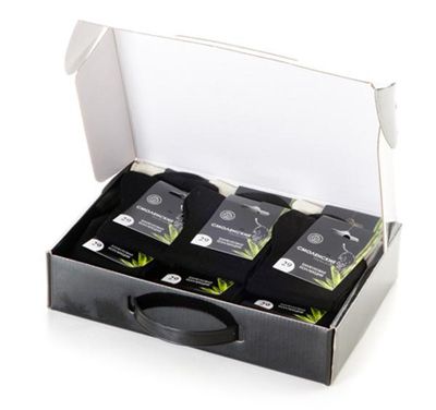 коробка с подарочными носками