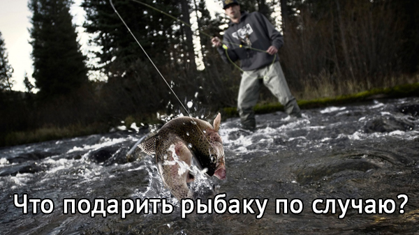 что подарить рыбаку